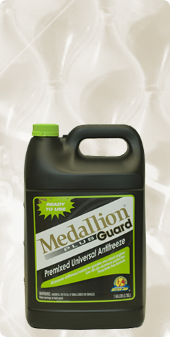 Medallion Antifreeze and Mobil Coolants